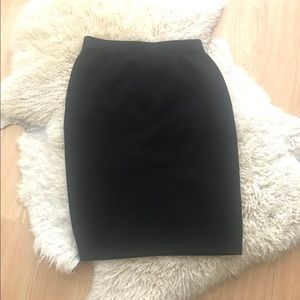 St. John Basics Santana Knit Skirt